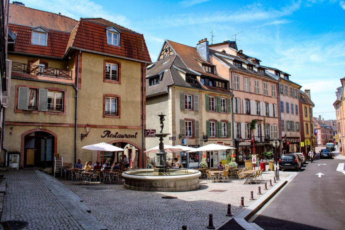 die Altstadt von Belfort
