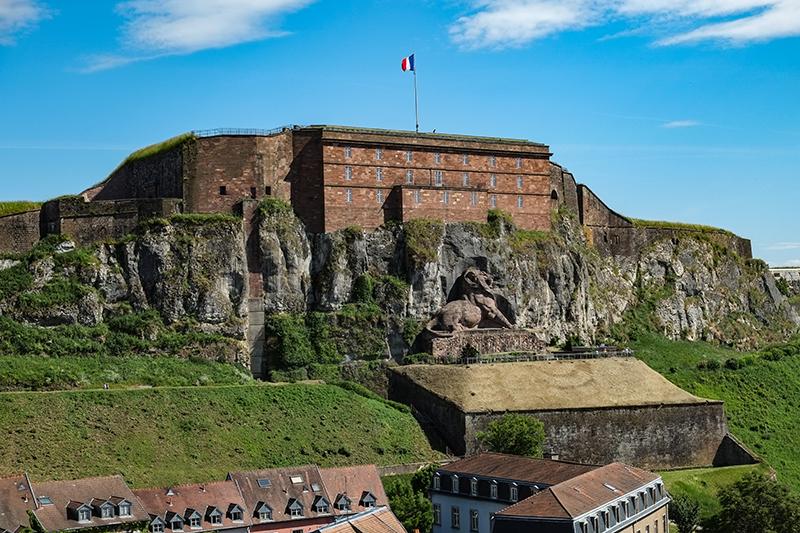 Citadelle de grès rose