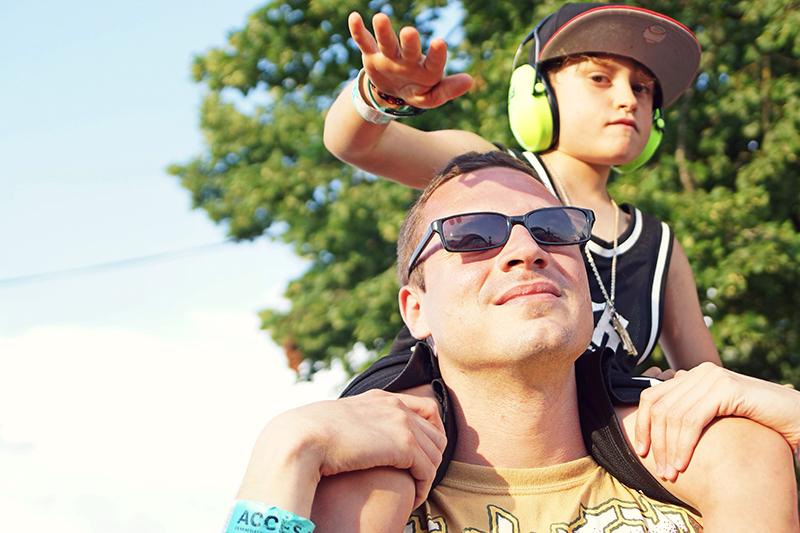 Père et fils Eurockéennes