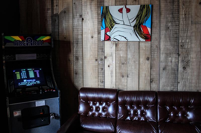 Arcade Vieux garage café