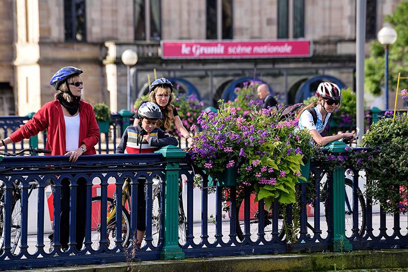Bicyclette sur le pont Carnot