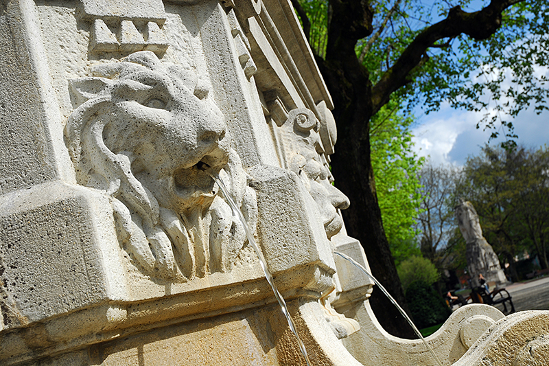 Fontaine Lion Belfort