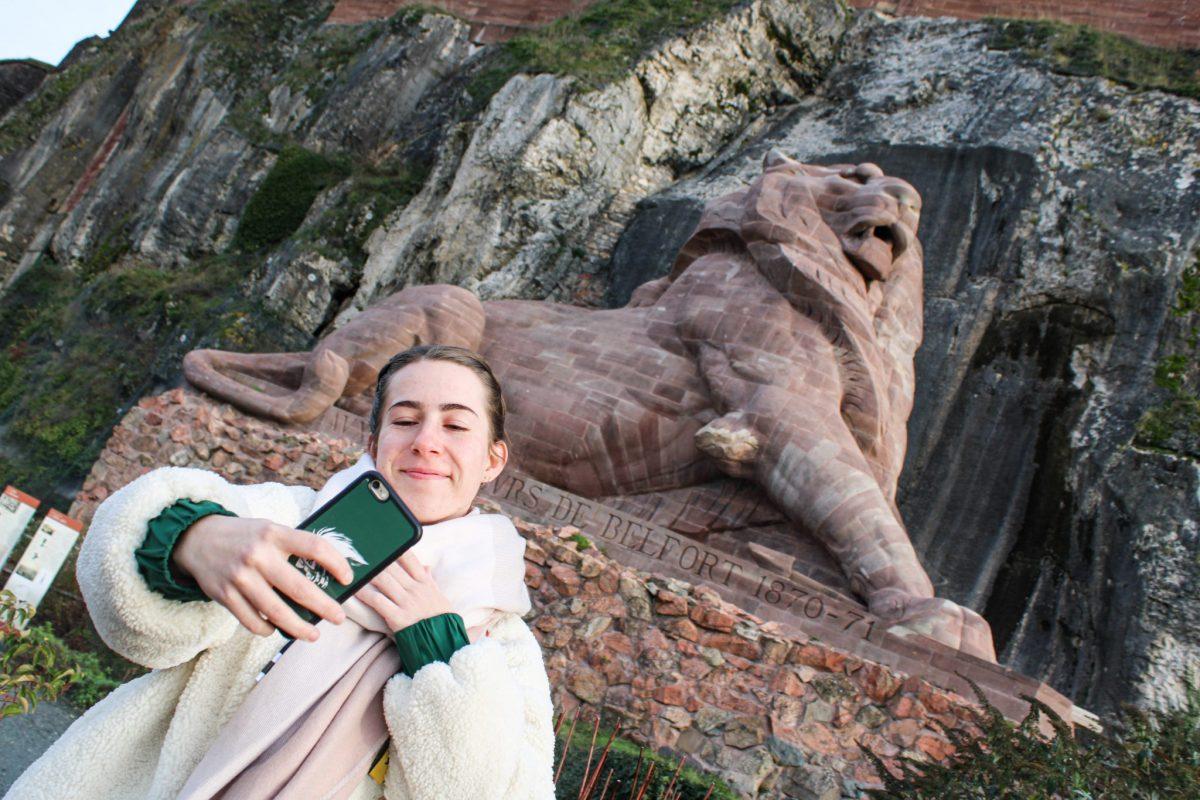 Lion Belfort, monument
