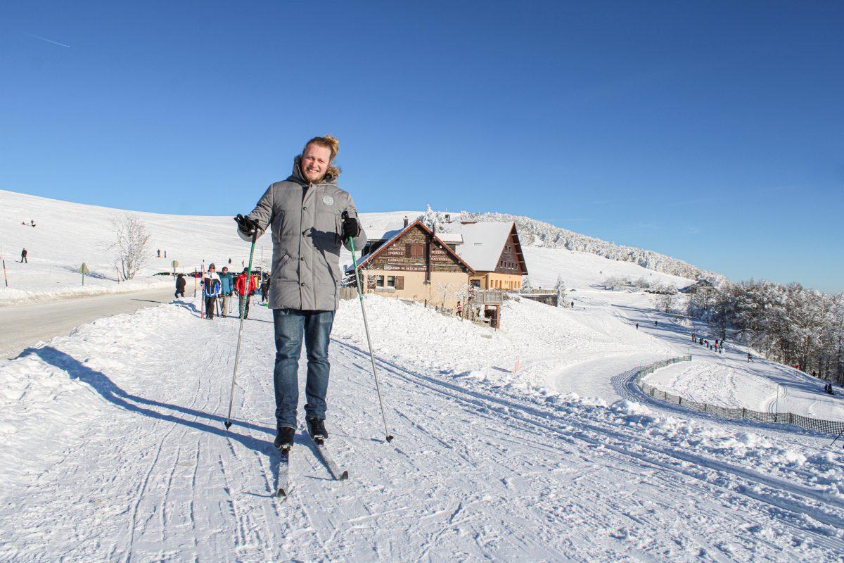 ski de fond Ballon d'Alsace