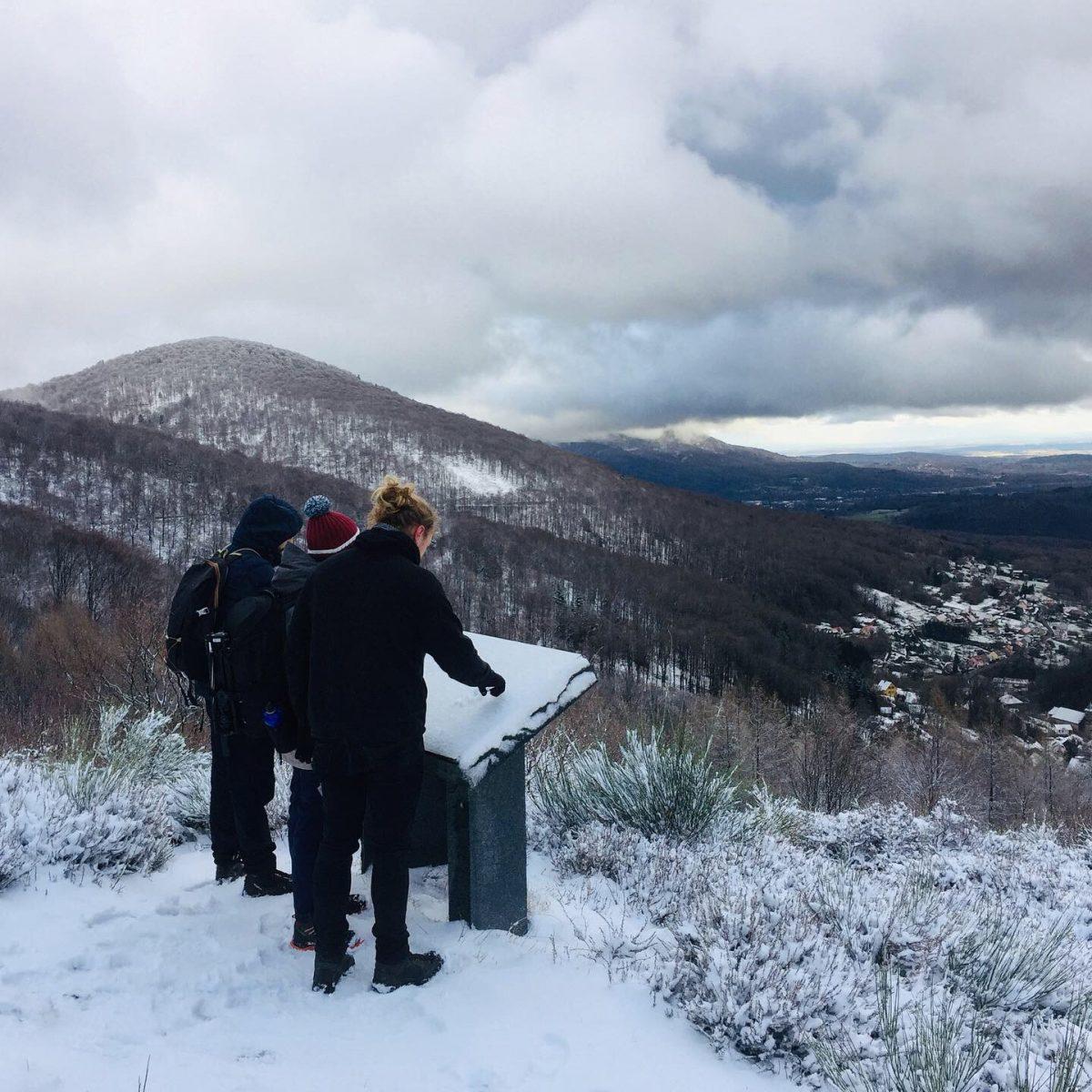 balade neige auxelles haut