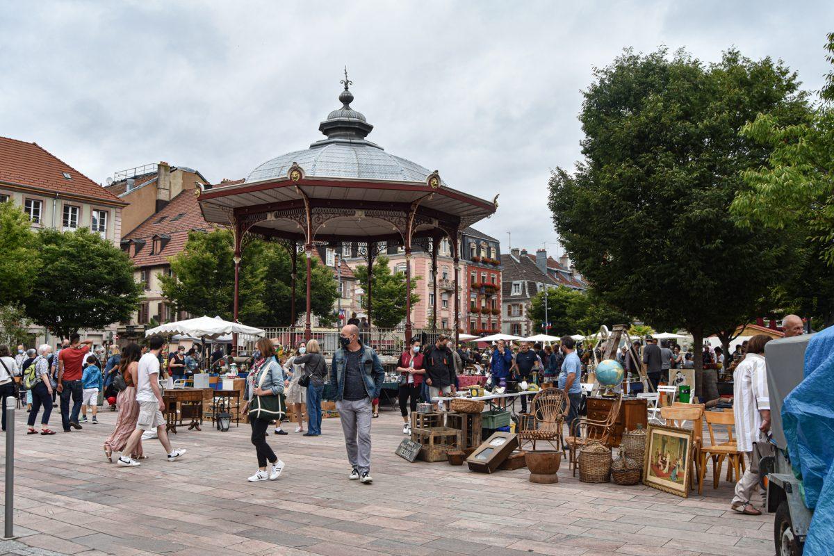 marché aux puces Belfort