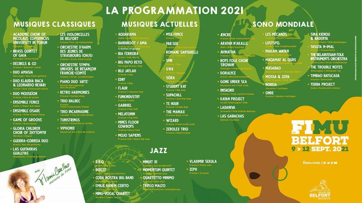 programmation FIMU 2021