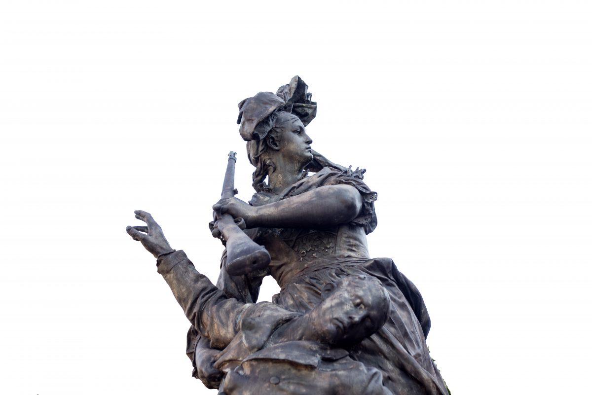 Statue quand même