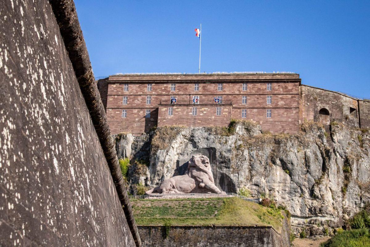 Citadelle et Lion de Bartholdi