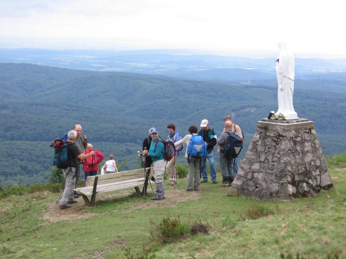 Le mont MENARD à 45 mn de marche
