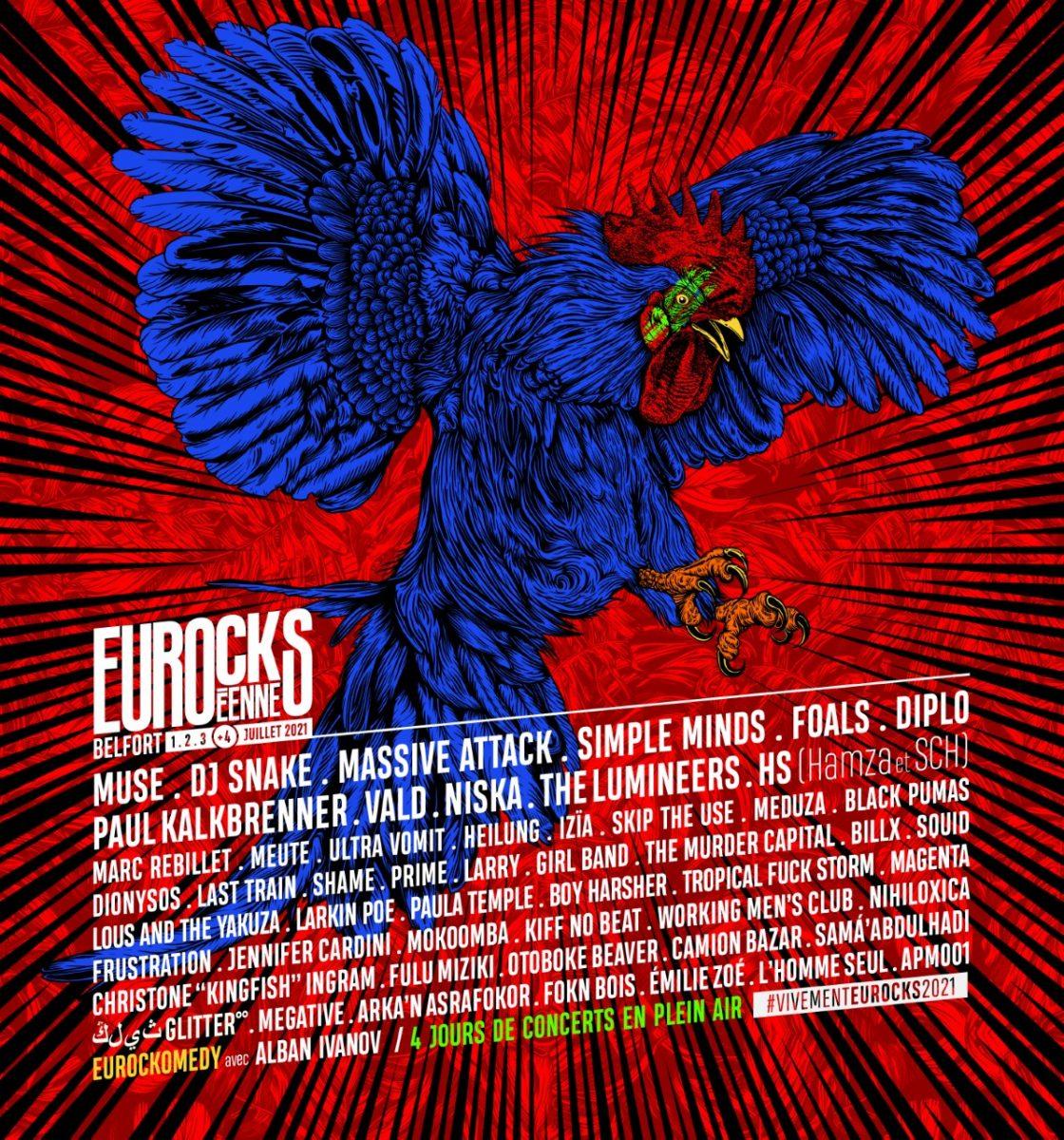 affiche eurocks 2021