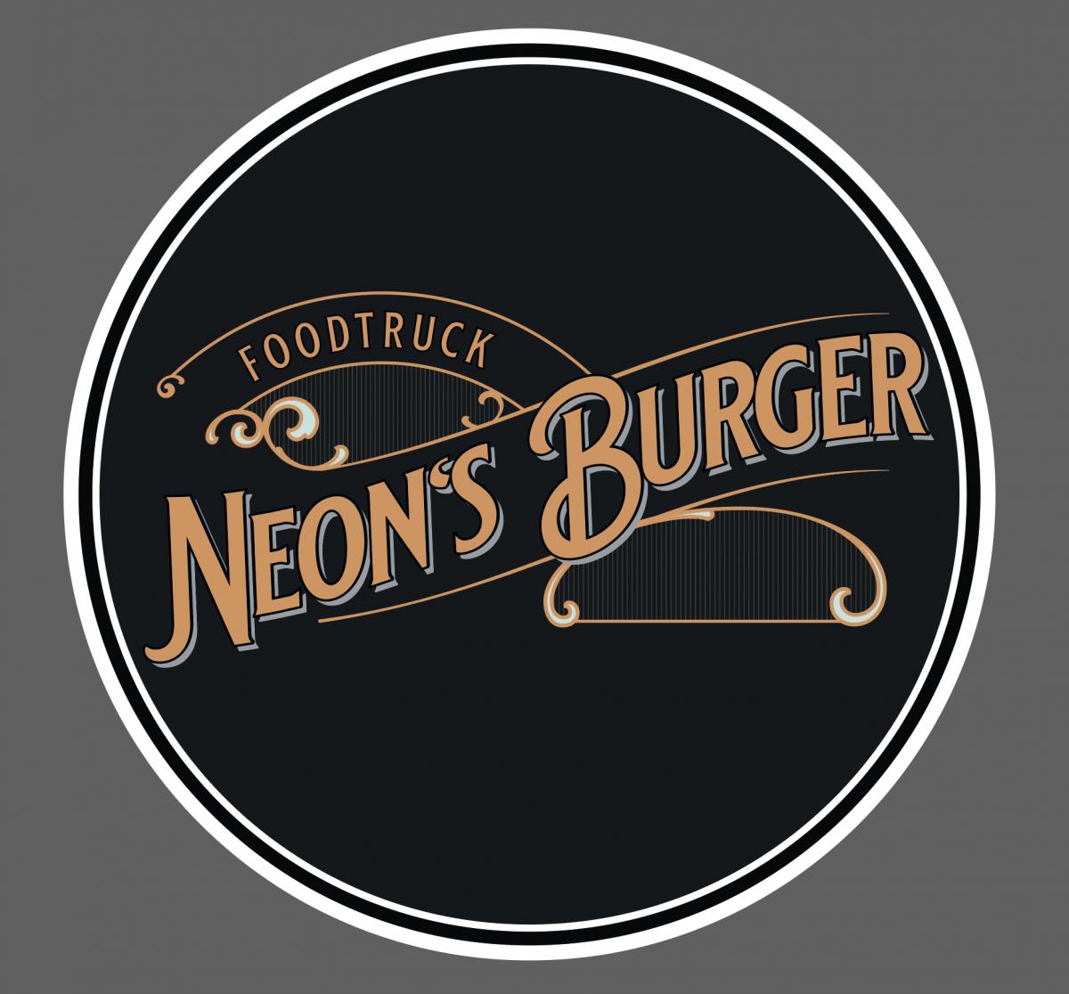 logo neon s burger